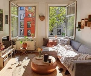 apartment, city, and decoration image