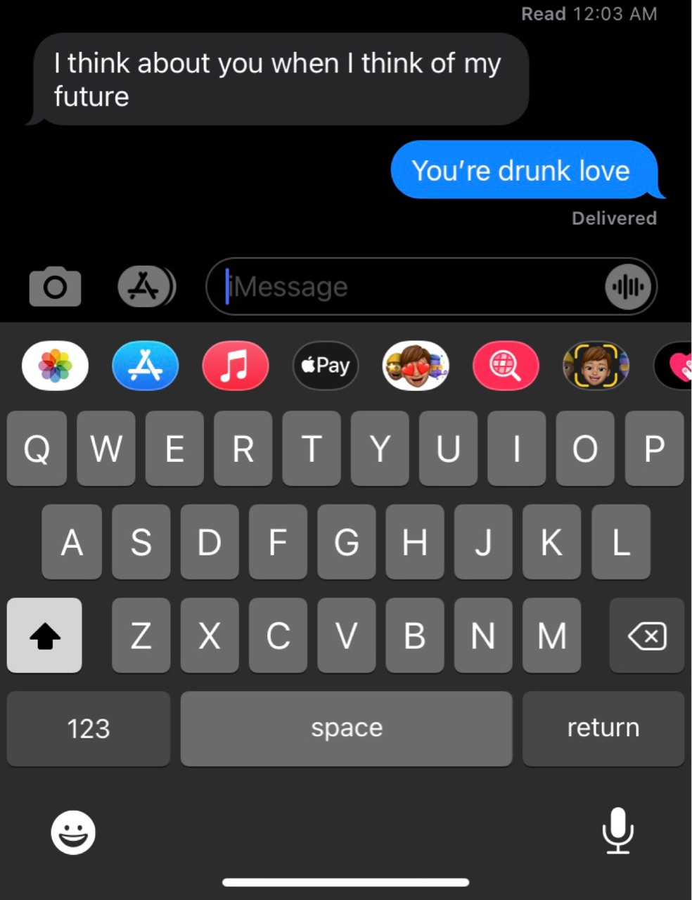 apple, drunk, and messages image