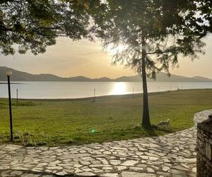 Greece, lake, and lakeside image