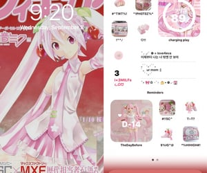 miku, ios, and sakura miku image