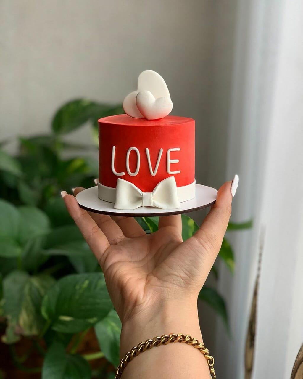 Blanc, cake, and coeur image