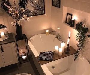 bathroom, black, and bois image