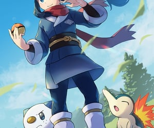 anime, anime girl, and pokemon image