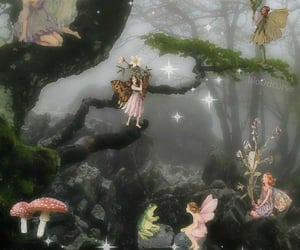 fae, faerie, and fairy image