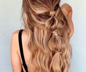 Easy, peinado, and hairdo image