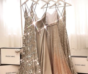 style, dinner dress, and dinner gown image