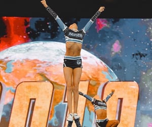 cheer, girl, and sparkle image