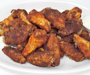 Chicken, wings, and food image