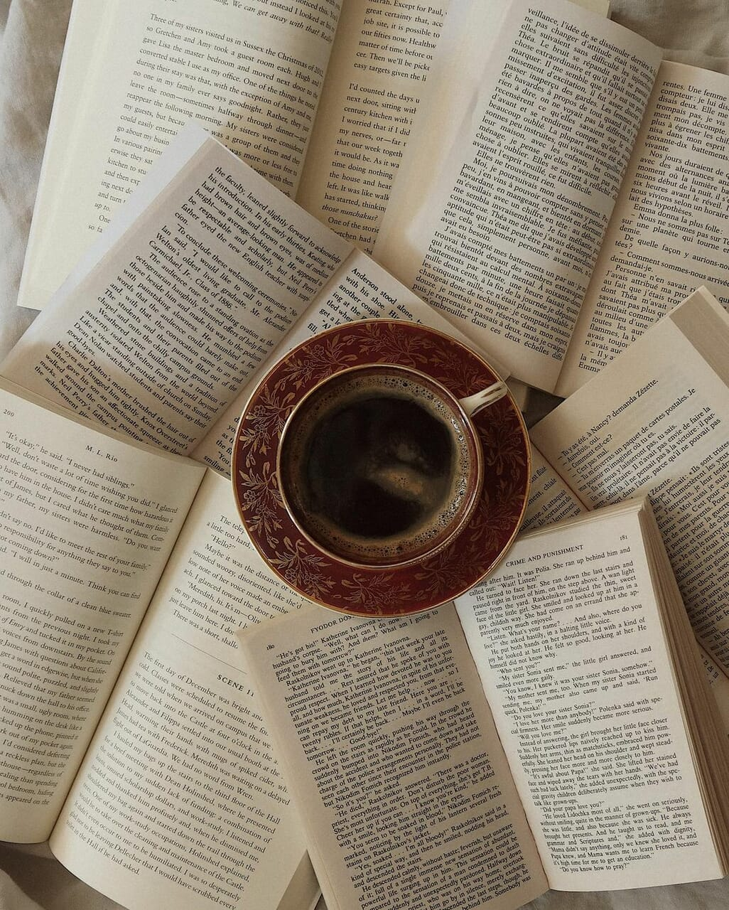 book, books, and drink image
