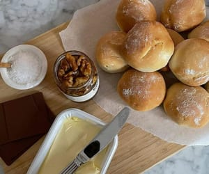 food, bread, and chocolate image