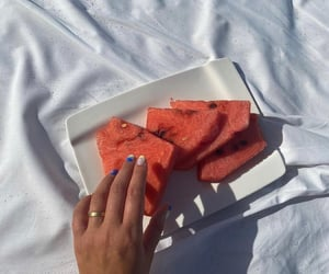 delicious, watermelon, and food image