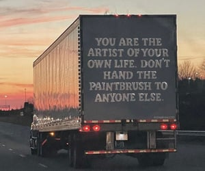 car, quote, and road image