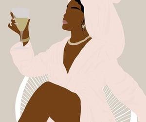 black woman, girl power, and woman image