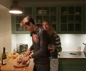 adorable, cooking, and girlfriend image