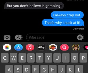 gambling, message, and text image