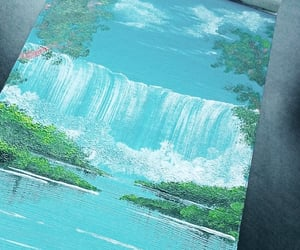 acrylic, art, and nature image