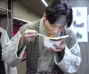 eating, icons, and bts image