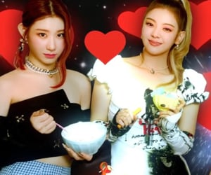 gg, itzy, and chaeryeong image