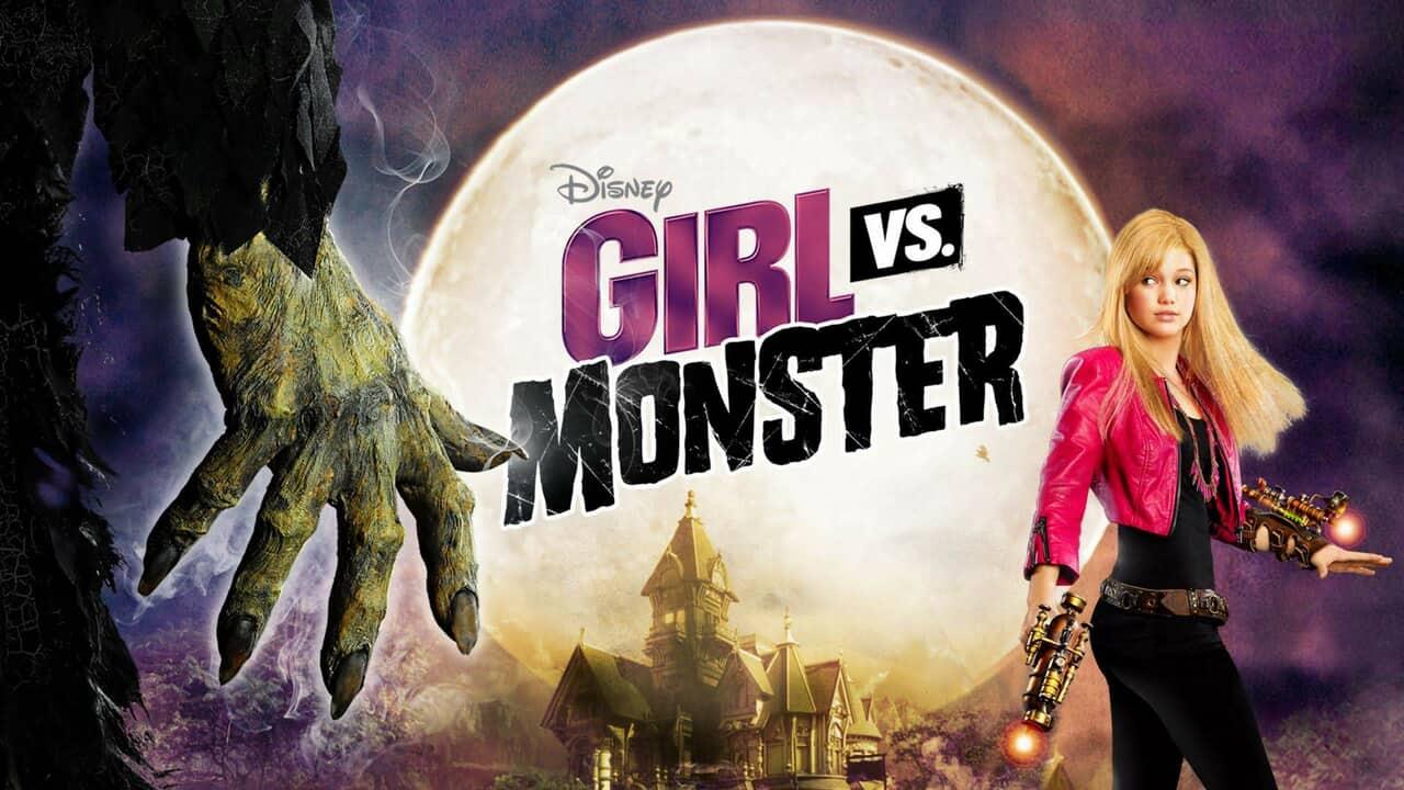 disney and girl vs monster image