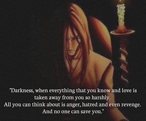 anger, Darkness, and naruto image