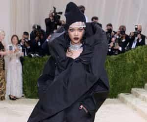 black dress, style, and met gala image