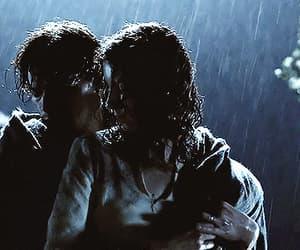 gif, rain, and outlander image