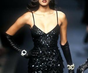 fashion, haute couture, and Yasmeen Ghauri image