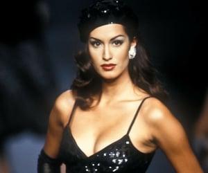 fashion, Yasmeen Ghauri, and 90s models image