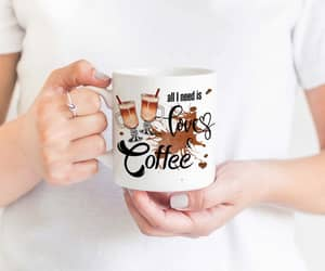 gift for her, funny sublimation, and cup of coffee image