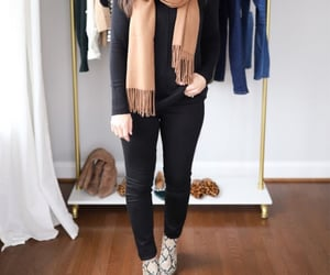 black top, casual, and outfit image