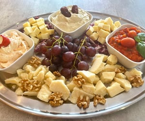 cheese, food, and dips image