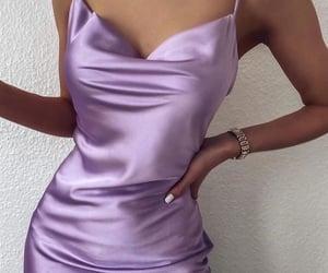 dress, girl, and hand image