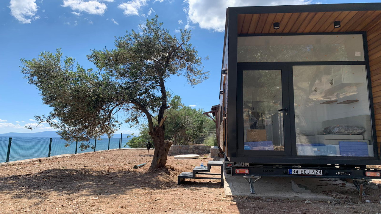 article, tiny house, and house image