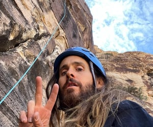 30 seconds to mars, jared leto, and peace out image