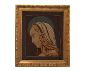 etsy, Virgin Mary, and art portrait image