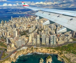 building, lebanon, and travel image