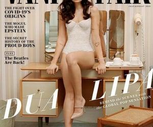 stunning, dua lipa, and Vanity Fair image