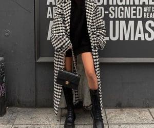 black&white, chanel, and fashion image