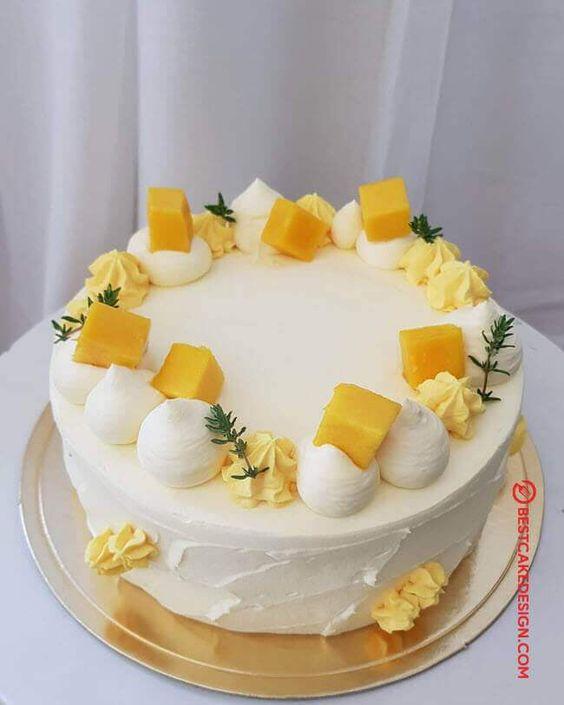 cake, food, and mango image