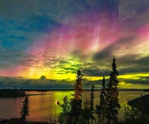 canada, northern lights, and nature image