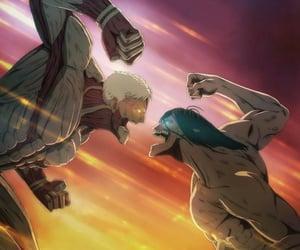 anime, reiner, and manga image