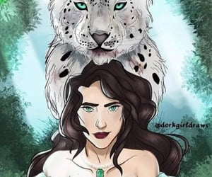 faerie, throne of glass, and throneofglass image