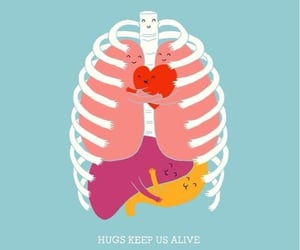 alive, hugs, and background image