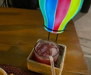 alcohol, balloon, and drink image