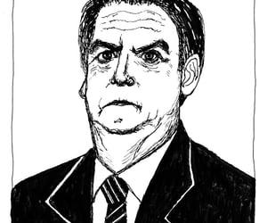 art, brazil, and caricatura image