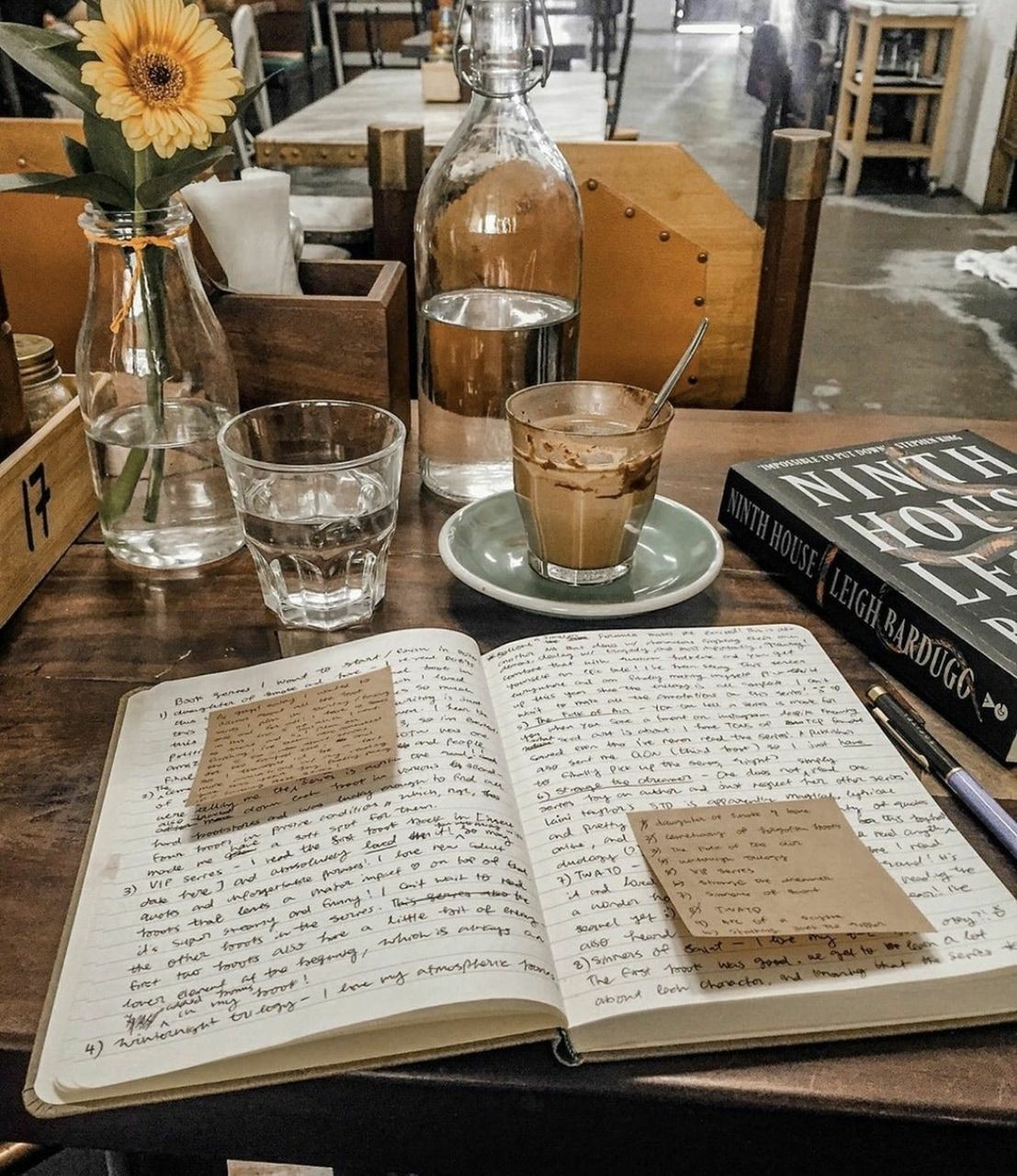book, cafe, and college image