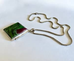 etsy, vintage jewelry, and box chain image
