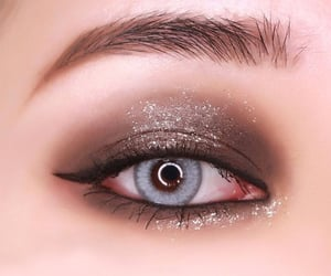 cosmetics, eyeshadow, and lashes image