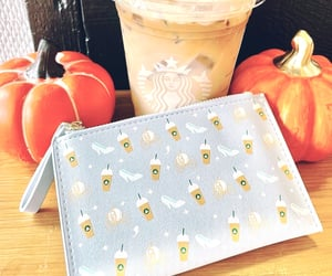 aesthetic, coffee, and pumpkin image