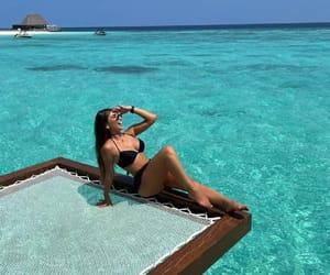 bikinis, models, and summer image